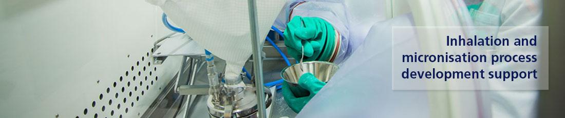 Micronisation Inhalation support